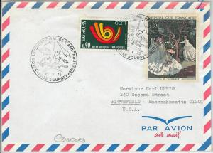 64846  - FRANCE - POSTAL HISTORY - SPECIAL POSTMARK on COVER: CONCORD Aviation