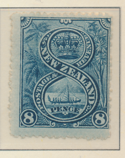 New Zealand Stamp Scott #116, Mint Hinged - Free U.S. Shipping, Free Worldwid...