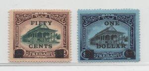Malaya Kedah - 1919 - SG 24-25 - MH