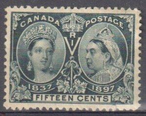 Canada #58 Mint XF OG H C$400.00 -- CHOICE Jubilee --