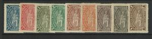 Dominican Republic SC# 111 - 119 Mint Hinged (See Notes) - S7550