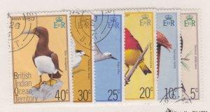 British Indian Ocean 63-68 birds CV $19.50