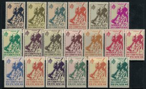 French West Africa #17-35*  CV $21.60