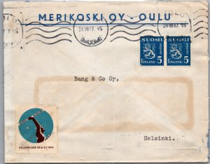 Finland, Seals and Labels, Olympics