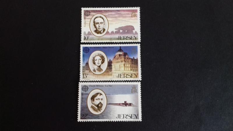 Jersey 1985 EUROPA Stamps - European Music Year Mint