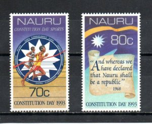 Nauru 400-401 MNH