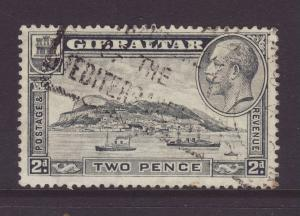 1931 Gibraltar 2d Perf 13½ x 14 F/Used