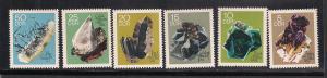GERMANY - DDR SC# 1105-10 F-VF MNH 1969