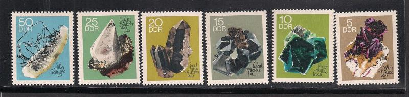 GERMANY - DDR SC# 1105-10 F-VF MNH 1969