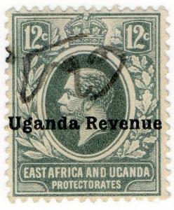 (I.B) KUT Revenue : Uganda Duty 12c (1912)