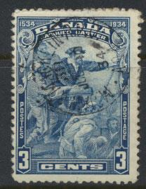 Canada SG 332 poor used  see scan