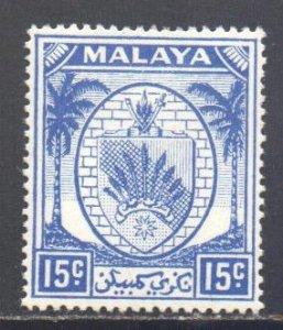 Malaya Negri Sembilan Scott 48 - SG52, 1949 Arms 12c MH*