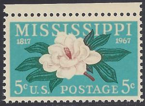 #1337 5c 150th Anniv. Misissippi Statehood 1967 Mint NH