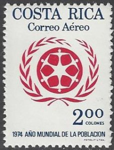 Costa Rica C609 MNH Population Year 1974