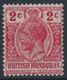 British Honduras SG 112 SC # 86 MLH security overprint see scan and details