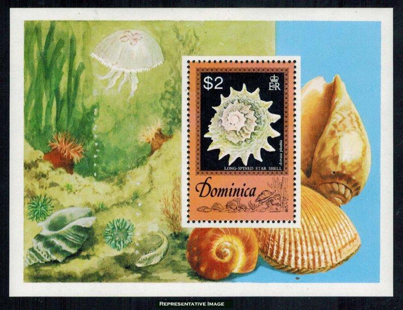 Dominica Scott 520 Mint never hinged.