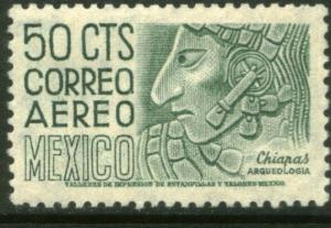 MEXICO C193 50cts 1950 Definitive 1st Printing wmk 279 MNH