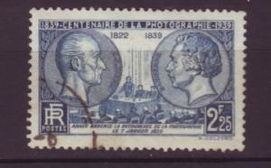 J20133 jlstamps 1939 france used #374 photography