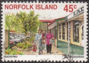Norfolk Island 1996 SG624 45c Tourism Shopping FU