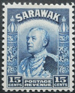 Sarawak 1941 GVI Fifteen Cents SG 115a mint