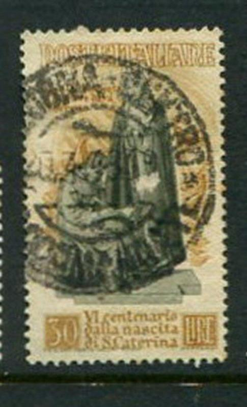 Italy #492 Used