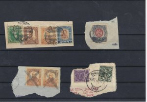 Mexico Used Stamps On Piece Ref: R6015