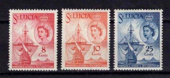 St Lucia 1960 New Constitution for Winward & Leeward Islands Set