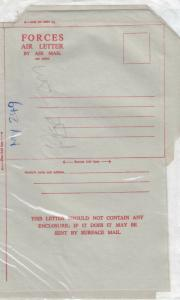 GB 1960 Forces Air Letter x 4 Unused J3821