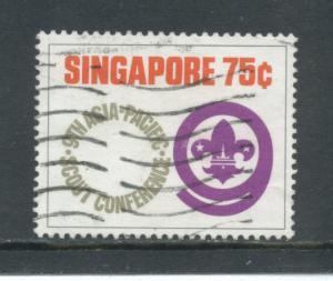 Singapore 211 F-VF  Used