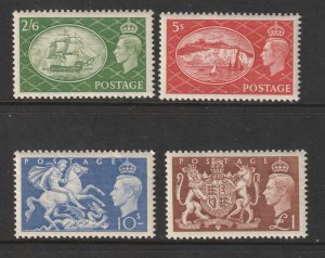 Great Britain the KGVI 1951 set MLH