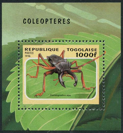 Togo 1996 Insect S/S Sc# 1712 NH