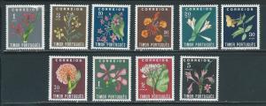 Timor 260-69 Flowers set MH