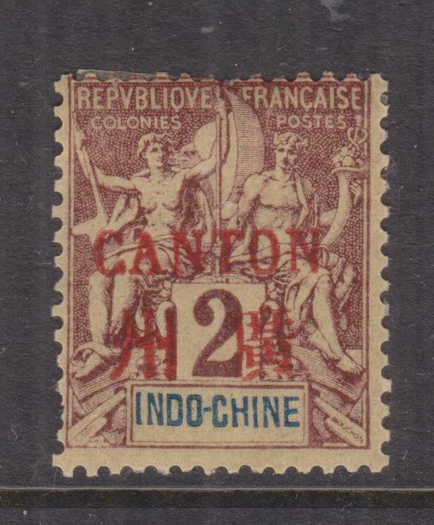 FRENCH INDO CHINESE PO CHINA,  1904 2c., lhm., small thin spot.