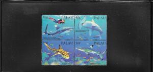 SHARKS - PALAU #315  MNH