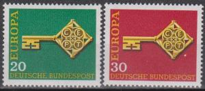 Germany #983-4 MNH VF (B4568)