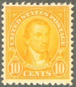 MALACK 562 XF OG NH, post office fresh color, Choice! ww0739