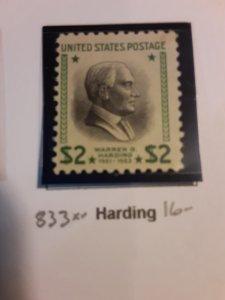 United States #833             MNH