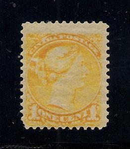 Canada #35 Yellow - Unused - O.G.