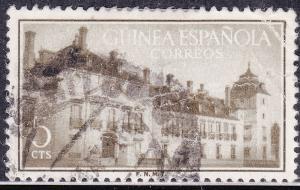 Spanish Guinea 340 USED 1955 Palace of Pardo