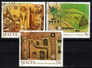 Malta #700-02  F-VF Used CV $4.10 (X5705)