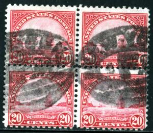 United States - SC #567 - USED BLOCK OF 4- 1923 -Item USA741