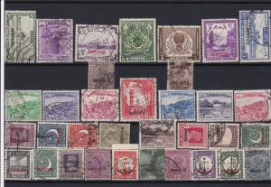 pakistan mostly and india stamps  ref r11797