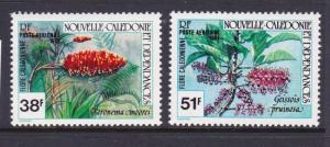 New Caledonia 1981 Flower Sc 170-171 MNH OurRef.#z0210