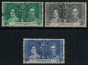 Gibraltar #104-6  CV $6.45