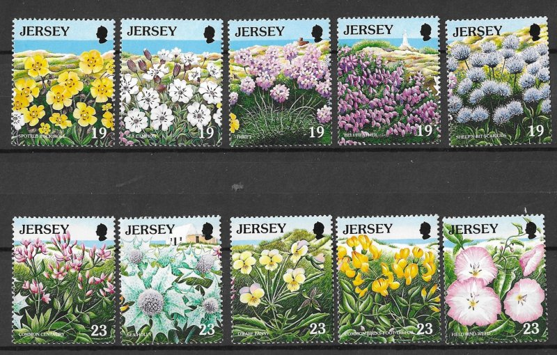 Jersey MLH 717-26 Colorful Flowers