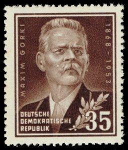 Germany DDR #147 Maxim Gorky; MNH