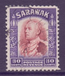 Sarawak Scott 127 - SG118, 1934 Sir Charles Vyner Brooke 30c used