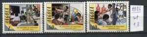 265855 ANGOLA 1986 year MNH stamp set pedagogy