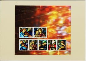 Great Britain. 2009 Christmas. PHQ Cards(8) Unused