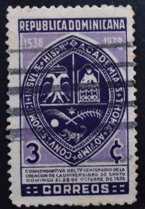 Dominican Republic Scott 340 Used stamp